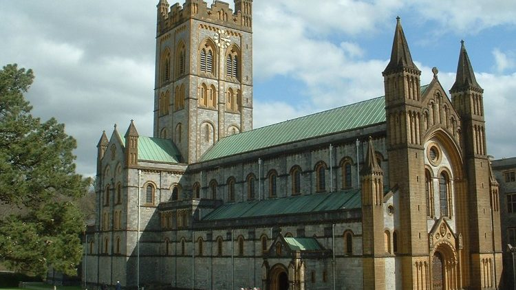 Buckfast Abbey in Devon, England